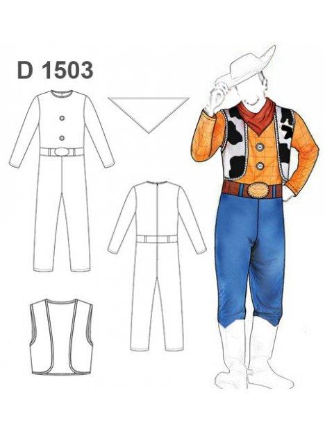 DISFRAZ DE VAQUERO 1503