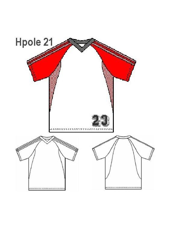 POLERA FUTBOL HOMBRE 0921