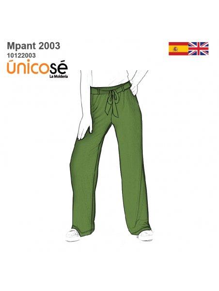 PANTALON BASICO MUJER 2003