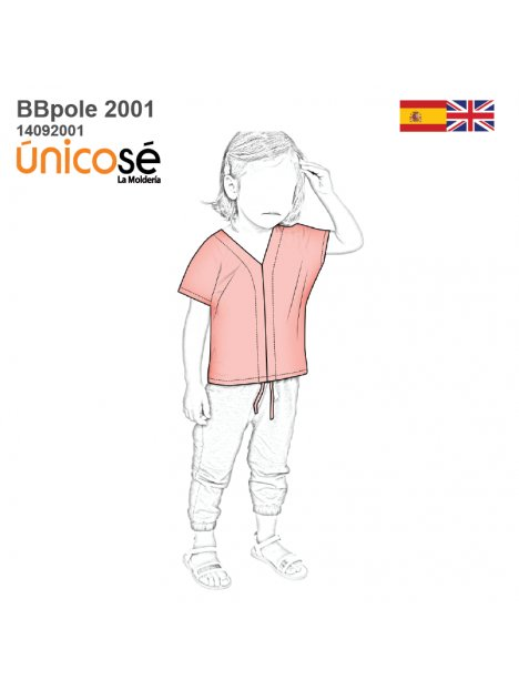 POLERA BLUSA BEBE 2001