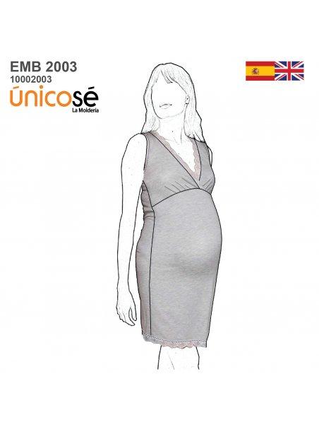CAMISA DORMIR MATERNAL 2003