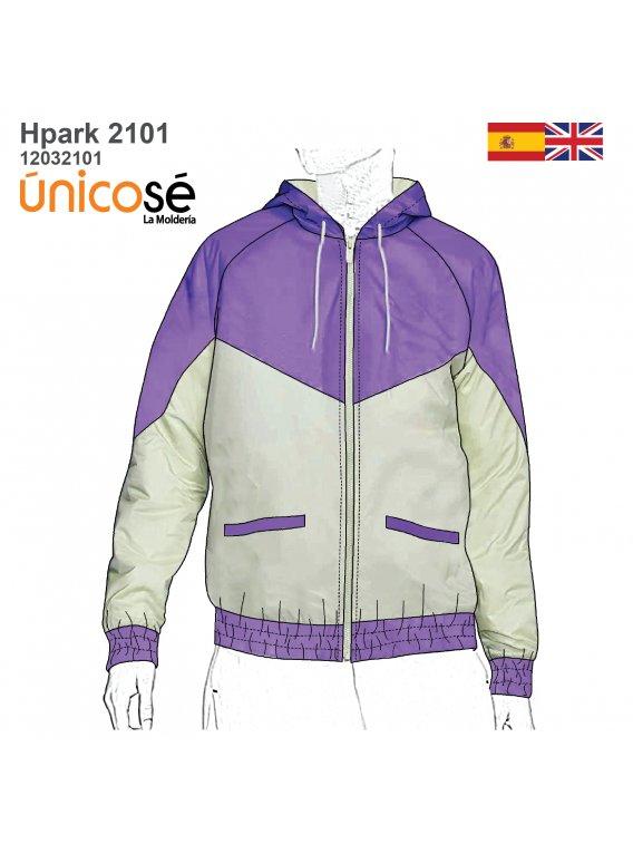 PARKA CORTAVIENTO UNISEX 2101