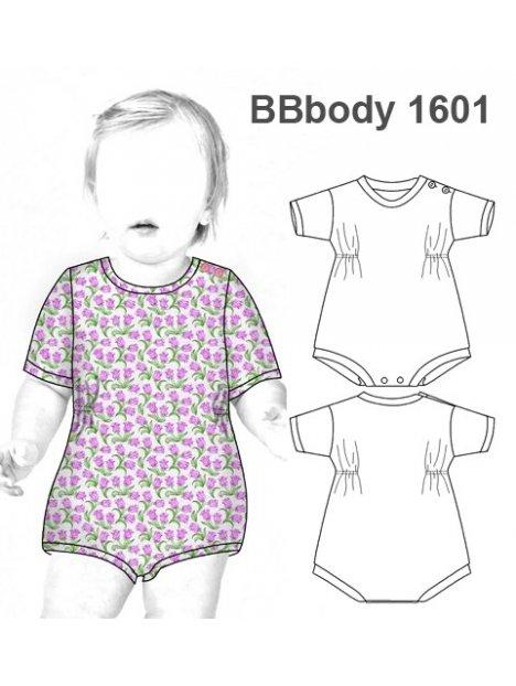 BODY BASICO BEBE 1601