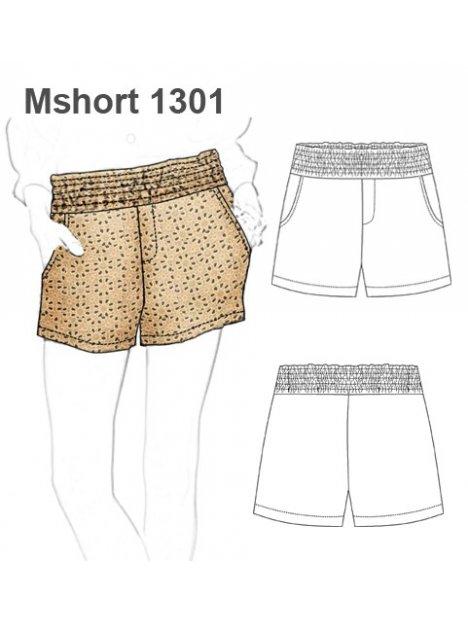 SHORT BASICO MUJER 1301