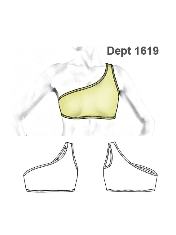 DEPORTE PETO SUJETADOR 1619