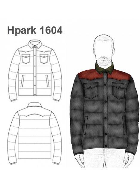PARKA HOMBRE 1604