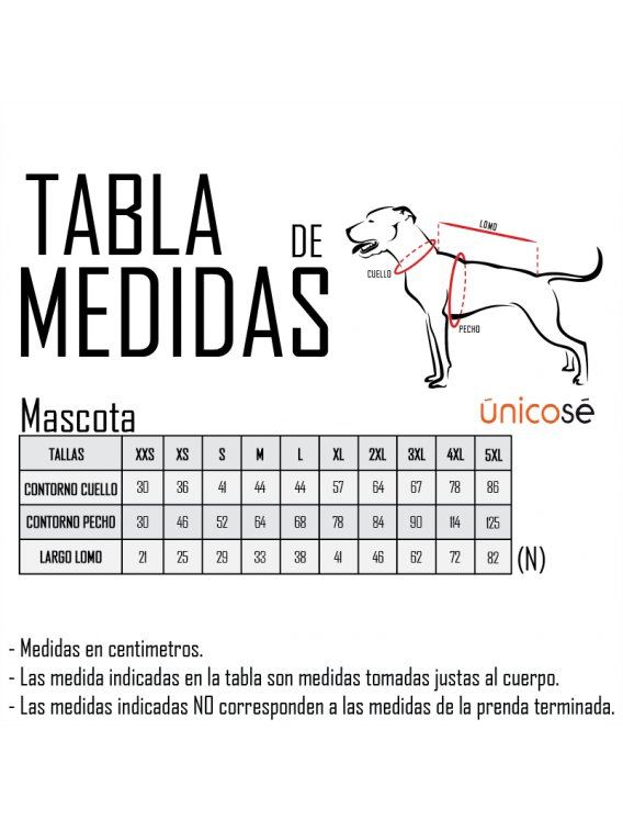 IMPERMEABLE PARA PERRO ACC 0907