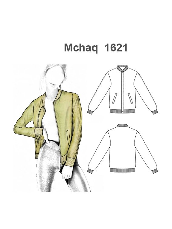 CHAQUETA BOMBER MUJER 1621