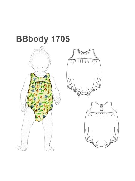 BODY ENTERITO BEBE 1705